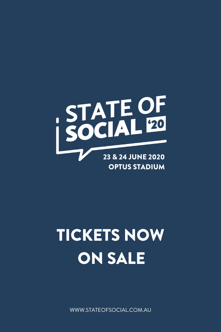 Join us at State of Social  at Perth's Optus Stadium, where marketing stars will share drinks, laughs, and insights into the future of digital.