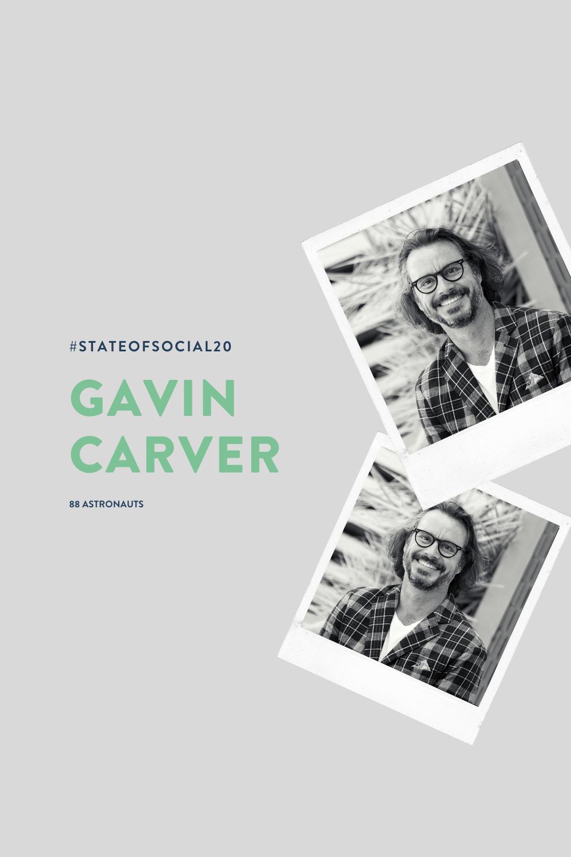 GAVIN CARVER