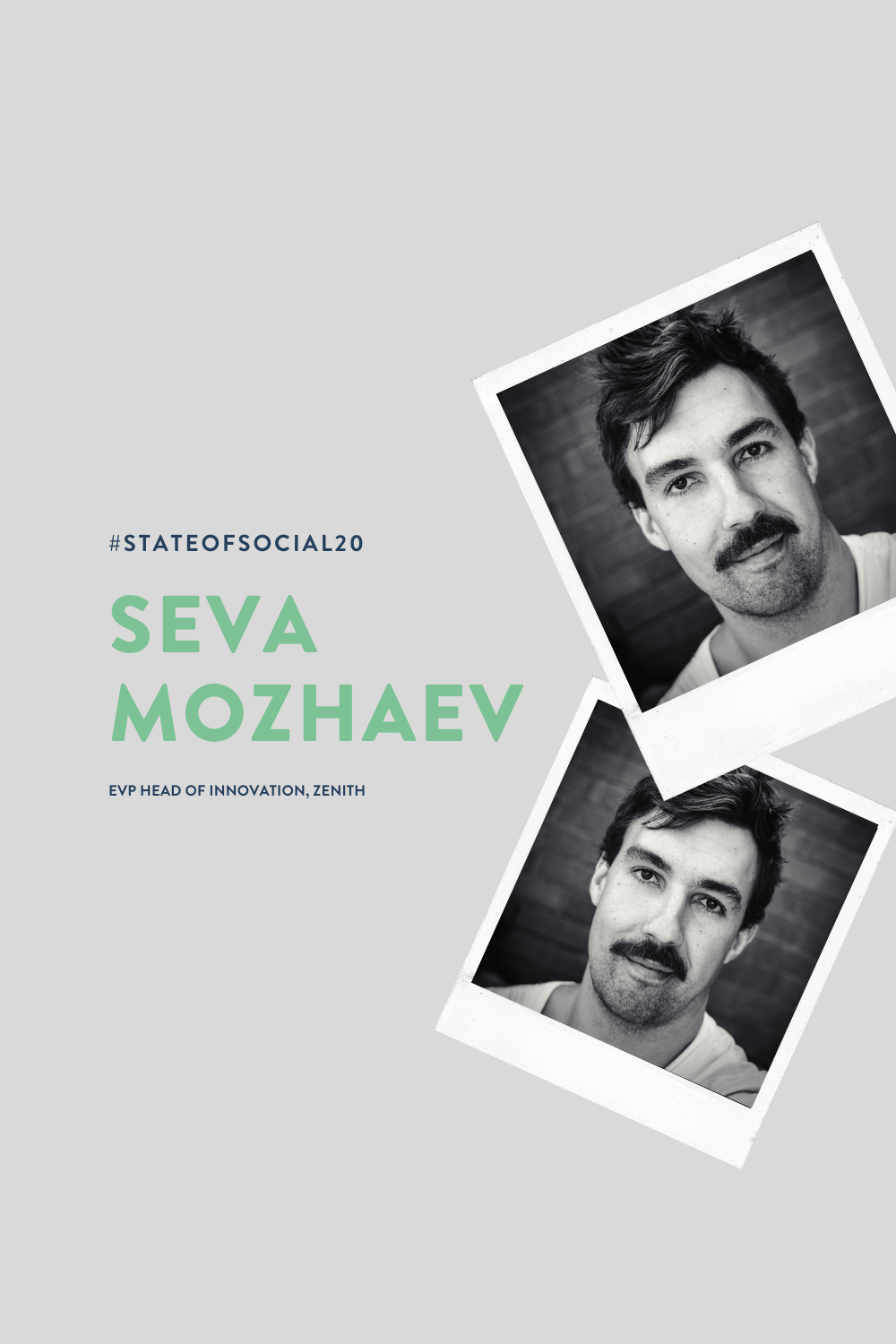 Speaker announcement: Tik Tok trailblazer Seva Mozhaev