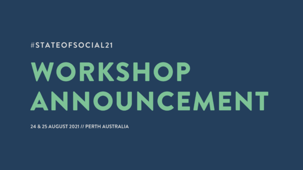SOS21 Workshop Announcement