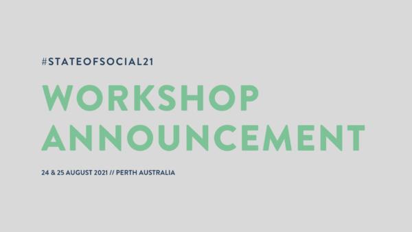 workshop announcement