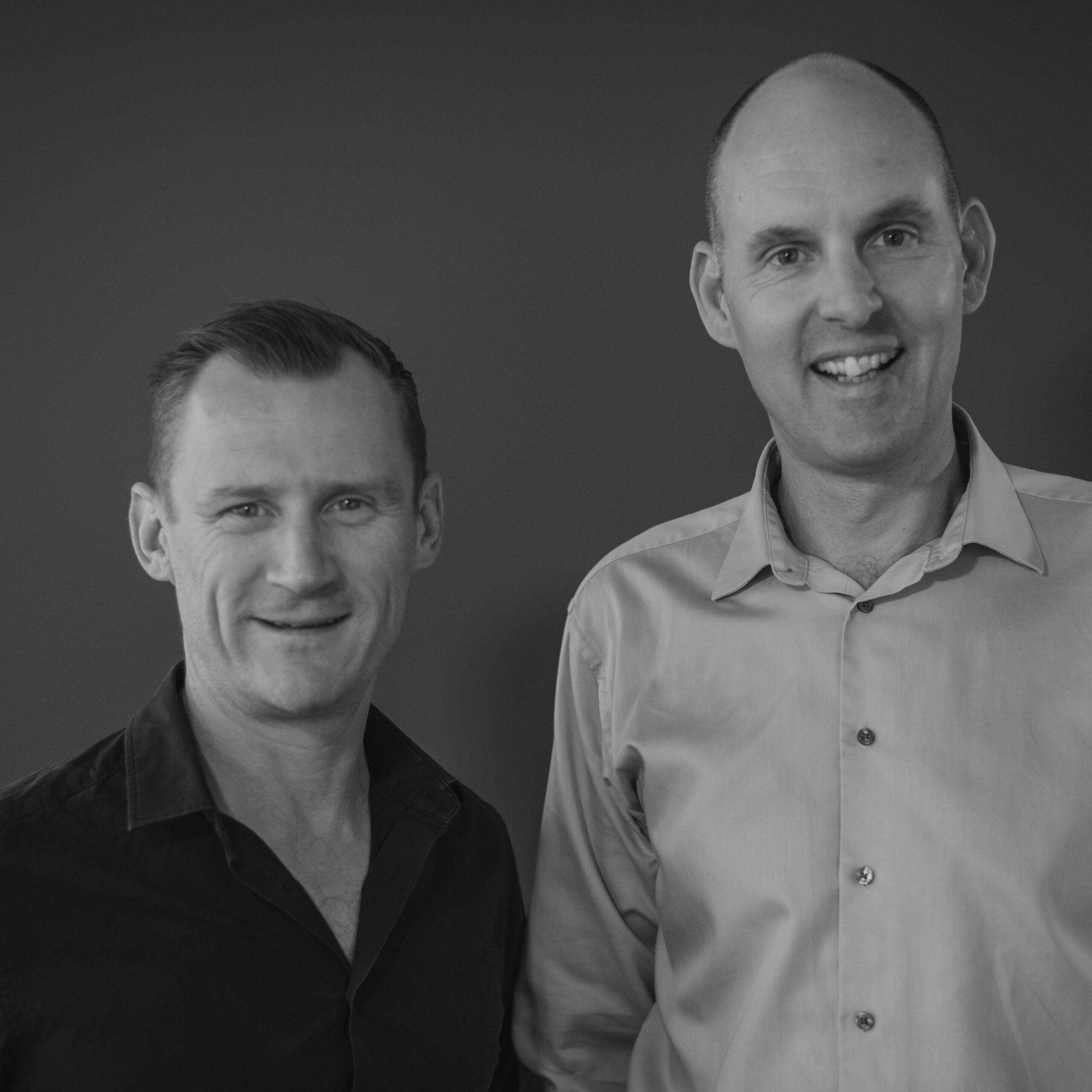 Photo of Ben de John and Scott Sanders