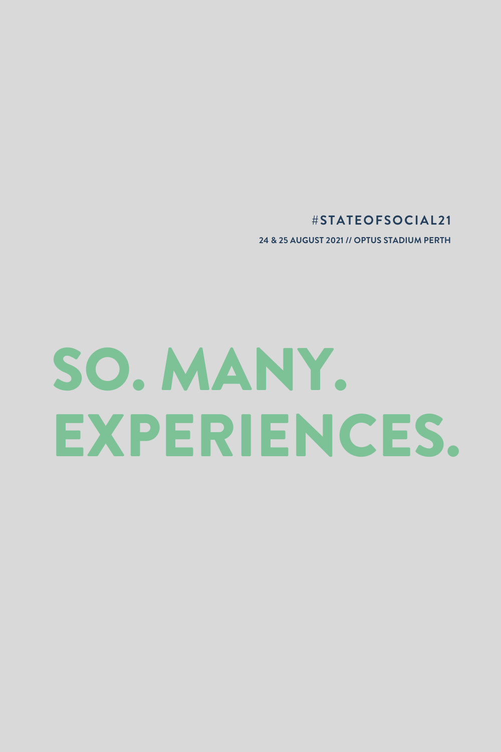 #StateofSocial21 Gallery