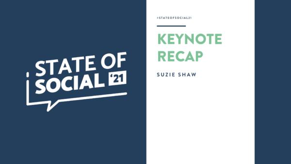 SOS21 KEYNOTE - SUZIE SHAW